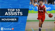 7DAYS EuroCup, Top 10 Assists, November