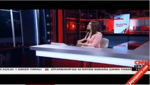CNN Türk spikeri Başak Şengül'ün zor anları