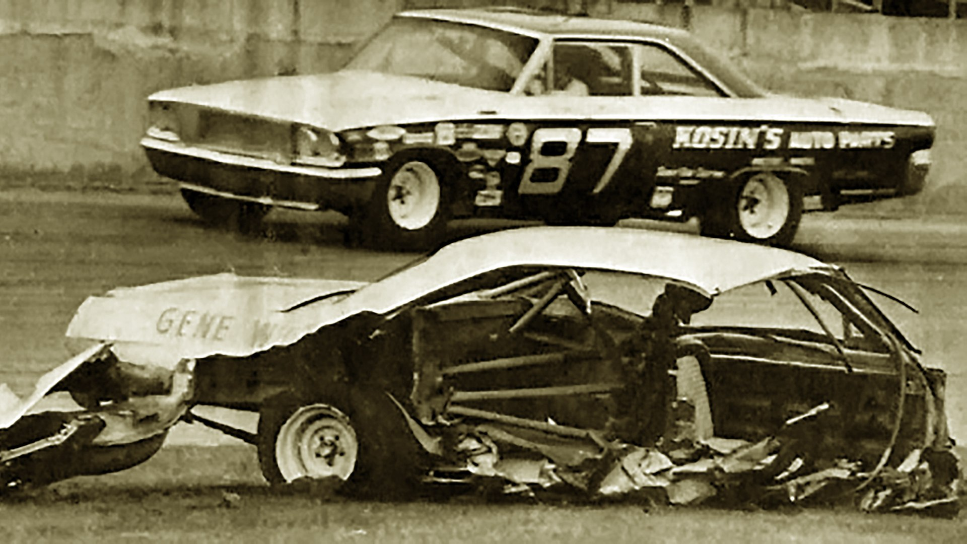 Donald MacTavish fatal crash at Daytona (22 February 1969) VIDEO & ALL  IMAGES