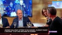 """Johnny Hallyday atteint d'un cancer : Florent Pagny l'encense """"c'est une machine de guerre"""" (vidéo)"""