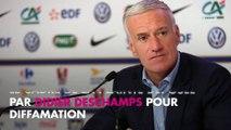Didier Deschamps porte plainte contre Eric Cantona pour diffamation