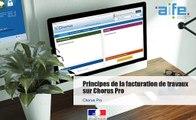 Tutoriel Chorus Pro - Fournisseurs - Principes de la facturation de travaux