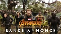 Avengers: Infinity War Première Bande Annonce (2018) VF