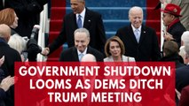 Government shutdown looms as top Democrats Nancy Pelosi and Chuck Schumer cancel meeting with President Trump