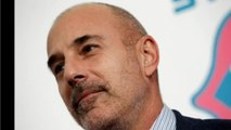 The Spectacular Fall Of Matt Lauer