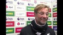 Stoke v LFC Post Game Interviews