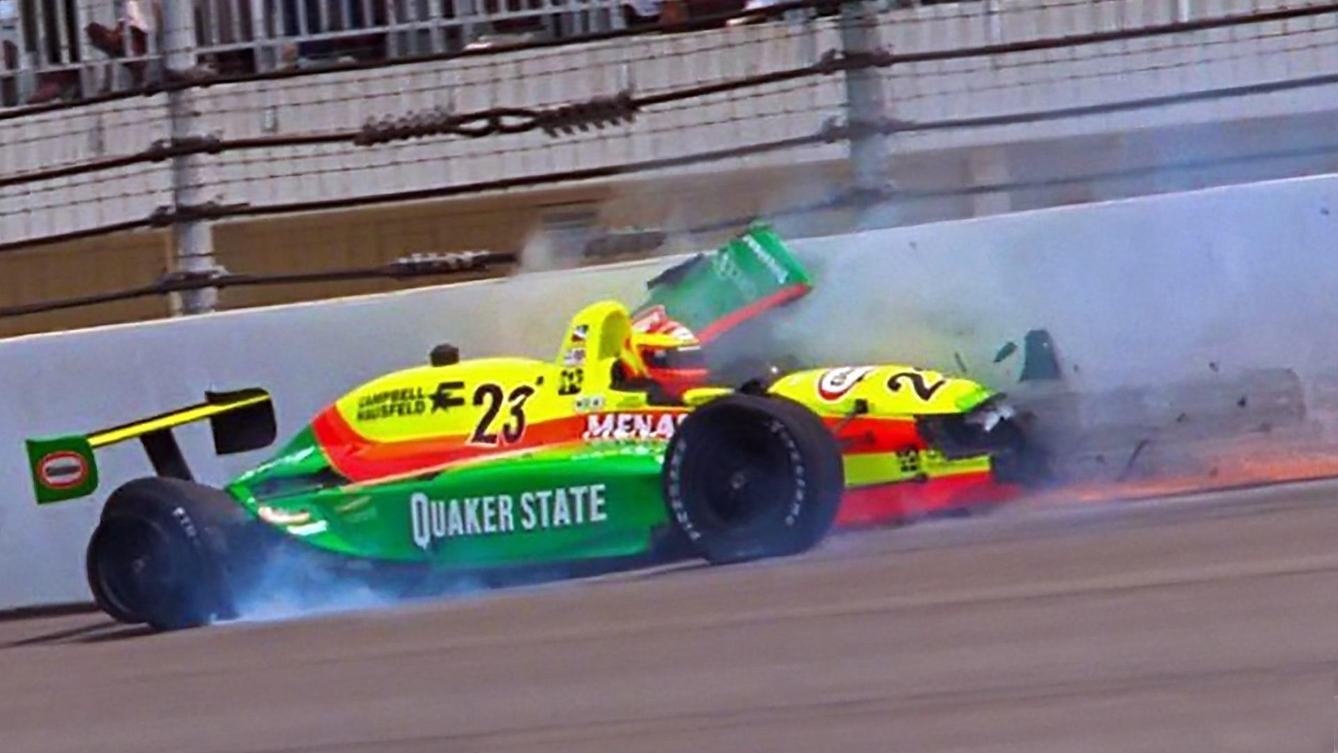 Scott Brayton fatal crash at Indy 500 (May 17, 1996) ALL ANGLES ...