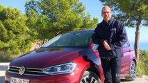 Essai vidéo - Volkswagen Golf Sportsvan (2017) : évoluer pour (tenter de) subsister