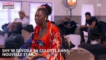 Shy'm dévoile par accident sa culotte dans Nouvelle Star, la toile s'enflamme (Vidéo)