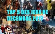 [FR] TOP 5 DES JEUX DU MOIS DE DECEMBRE 2017(avec MissSélène)