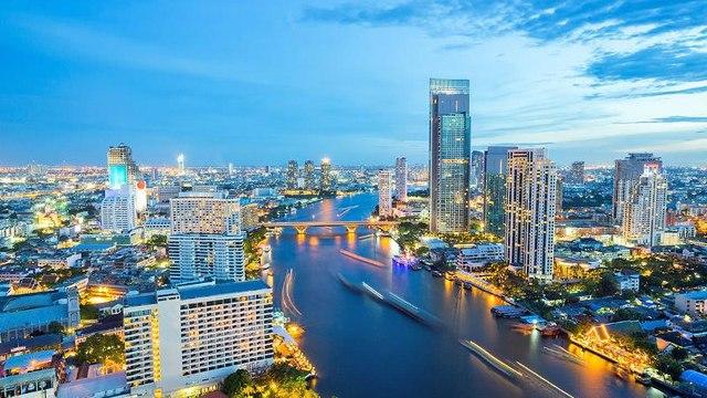 BANGKOK TIMELAPSE, THAILAND ( HD 2017)