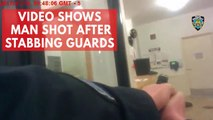 Police body cam shows officers shoot man wielding knife
