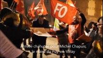 Les syndicats chahutent les élus de l'Agglo du Puy-en-Velay