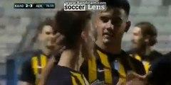 Christos Giousis Goal HD - Kallithea 2-3 AEK Athens FC 30.11.2017