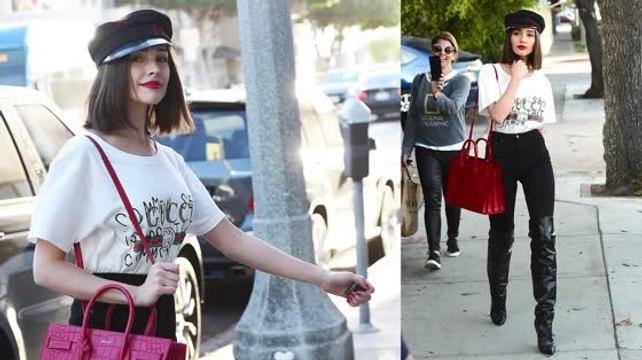 Olivia Culpo Channels 'Pretty Woman'