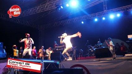 Concert : 20ans du groupe MAGIC SYSTEM à Conakry