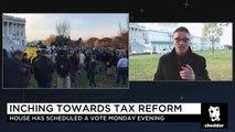 Senators Chris Van Hollen, Cory Booker Weigh in on GOP Tax Reform