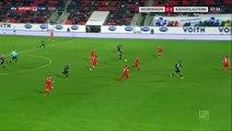 1-1Lukas Spalvis Goal Germany  2. Bundesliga - 01.12.2017 Heidenheim 1-1 Kaiserslautern