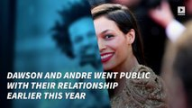 Rosario Dawson and comedian Eric Andre call it quits