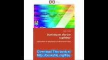 Statistiques d'ordre supérieur Applications en géophysique et électrotechnique (Omn.Univ.Europ.) (French Edition)