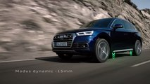 65.Der Audi Q5 mit adaptive air suspension