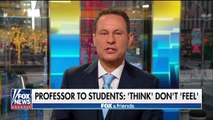 Professor to students: 'Think' don't 'feel'