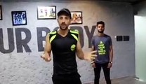 Lets # dance to get fit now, Cool moves under 2 minute.