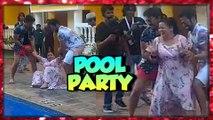 Harsh Limbachiyaa THROWS Bharti Singh In The POOL | Pool Party | Bharti Ki Baarat