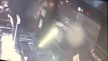 Bağdat Caddesi'ndeki Kaza Anı Güvenlik Kamerasında