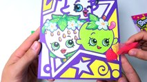 Coloring Shopkins with colored sand - Learn Colors for children & toddlers. Learning videos-a2W_0CbXPyw