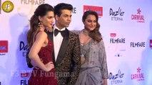 Sonakshi Sinha, Manushi Chillar, Karan Johar Attends Red Carpet Of Filmfare Glamour & Style Awards