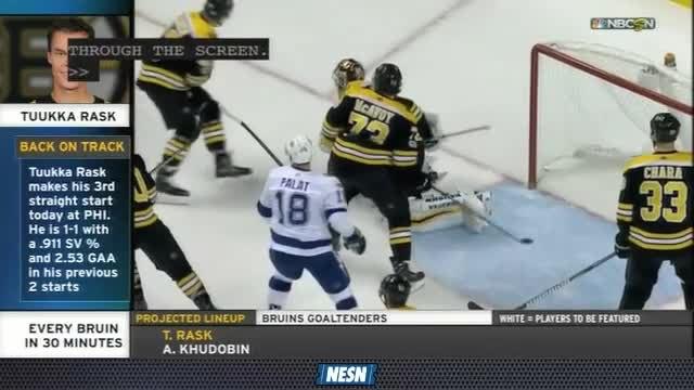 Bruins Breakaway Live: Tuukka Rask Took Step In Right Direction In Win Over Lightning