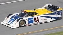 Tommy Kendall broke both legs in a huge crash at Watkins Glen (June 30, 1991) IMSA GTP