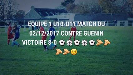 U10-U11 Équipe 1 match du 02/12/2017