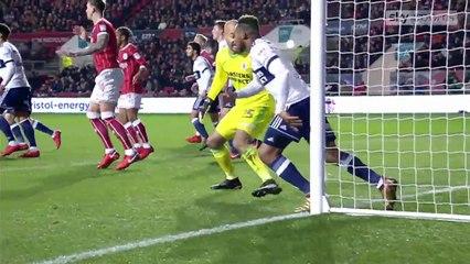 Bristol City 2-1 Middlesbrough (Championship) - Goals and Highlights 02.12.2017
