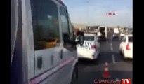 Yenibosna'da iki metrobüs çarpıştı! Yaralılar var