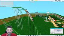 Theme Park Tycoon 2 #4 - SCARY ROLLER COASTER (Roblox Theme Park Tycoon 2)
