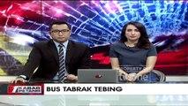 Diduga Rem Blong, Bus Tabrak Tebing di Bantul, Yogyakarta