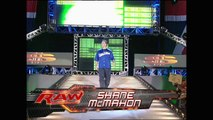 Robbie Brookside vs Umaga/Shane/Vince McMahon