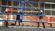 Lucien Descamps (Muay Thai Vendinois) VS Theo Rybakowski (MMA Pancrace Académie) Final Championnat Haut de France Muay Thai FFKMDA 2017-2018