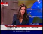 Santana Lopes abandona entrevista depois de ser interrompido pela chegada de José Mourinho ao aeroporto (2007)