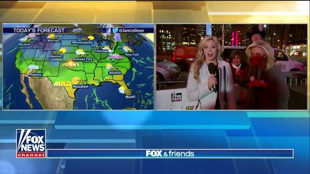 National forecast for Thursday, November 30