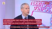 «Le discours des nationalistes (corses) n'est pas un discours indépendantiste» affirme Franck Riester