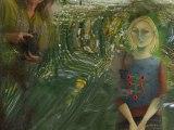 ALLAIN LEPREST et ses copains de bistro  vu par  yolande Image portraitiste instantanée