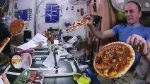 Soirée pizza sans apesanteur dans la station spatiale internationale !
