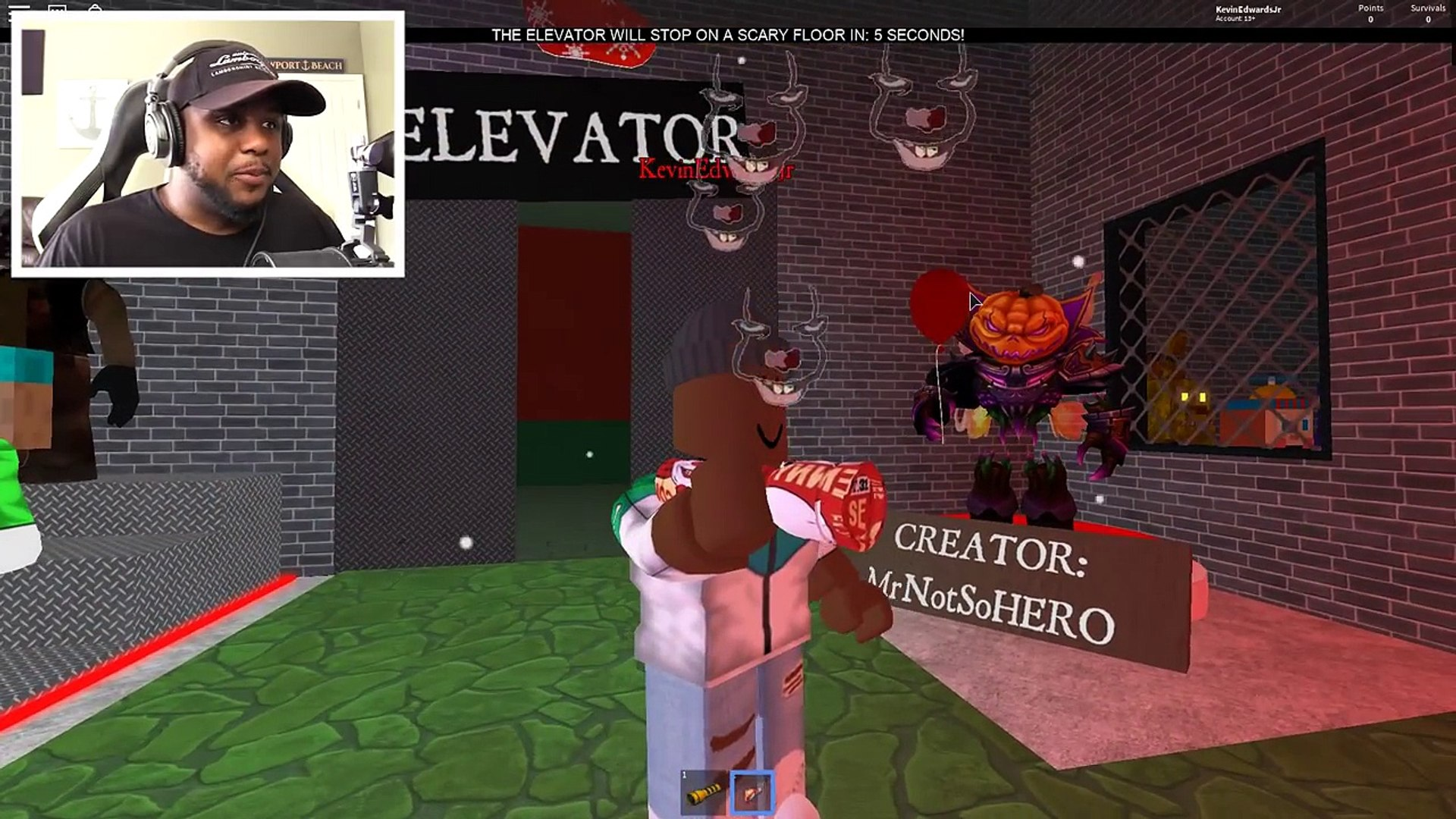 Christmas Update The Normal Elevator Roblox Roblox Christmas Scary Elevator Video Dailymotion