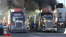 Course de vitesse.. de camions dragsters !!