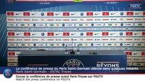 Paris Saint-Germain Press Conference PARIS SAINT-GERMAIN vs ESTAC Troyes