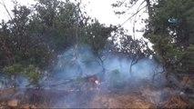 İnegöl'de Orman Yangını... 10 Dönüm Orman Sahası Kül Oldu