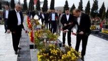 Somalı Maden Şehitleri Mezarları Başında Anıldı